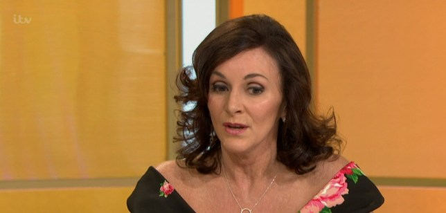 """****Ruckas Videograbs**** (01322) 861777 *IMPORTANT* Please credit ITV for this picture. 23/05/18 Loose Women - ITV1 Grabs from this morning's show which saw panelist Shirley Ballas talk about how she has been cheated on a number of times in past relationships and that the only true love she gets is from her mother and son. Ballas spoke about how she believed that the reason for her second husband cheating on her was because of karma as she left her first husband for him. She also said her last boyfriend """"had infidelities"""" but she understood as he was younger. Janet Street Porter seemed so heartbroken by Shirley that she told her that she feels like mothering her - resulting in a concerned look from Ruth Langsford. Office (UK) : 01322 861777 Mobile (UK) : 07742 164 106 **IMPORTANT - PLEASE READ** The video grabs supplied by Ruckas Pictures always remain the copyright of the programme makers, we provide a service to purely capture and supply the images to the client, securing the copyright of the images will always remain the responsibility of the publisher at all times. Standard terms, conditions & minimum fees apply to our videograbs unless varied by agreement prior to publication."""
