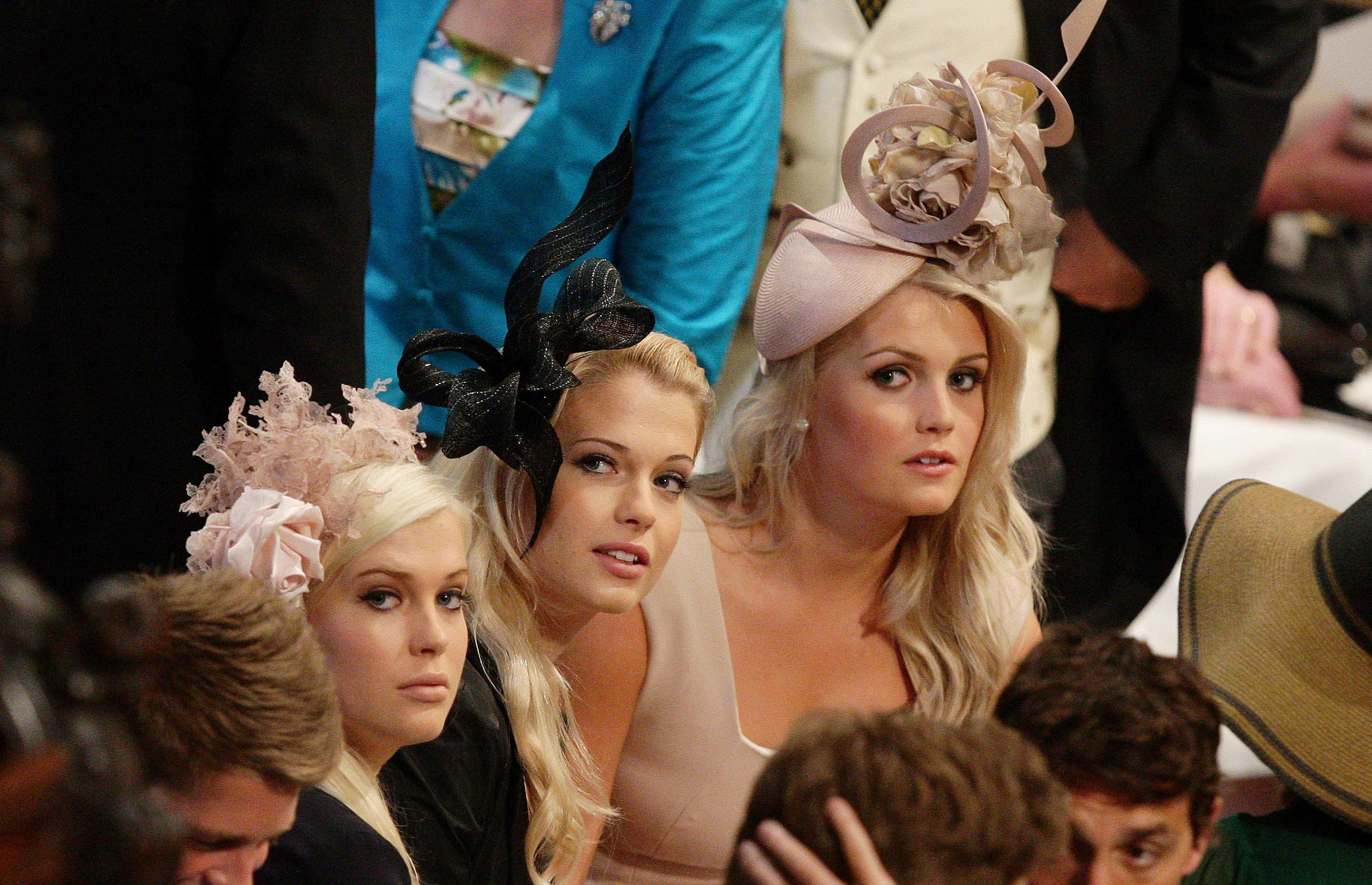 Who is Lady Eliza Spencer and her twin sister Lady Amelia Spencer, Diana's nieces and the daughters of Charles Spencer