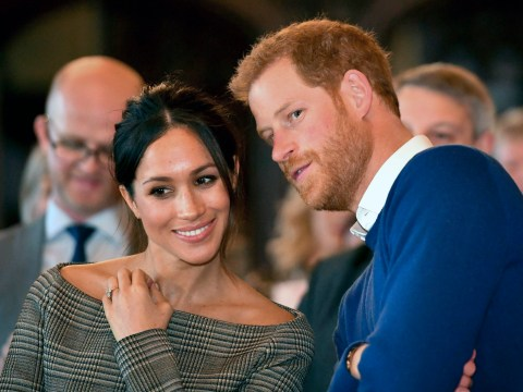 Where will Meghan Markle stay the night before her wedding?