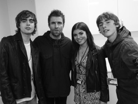 Liam Gallagher challenges his kids over being 'posh pr**ks'