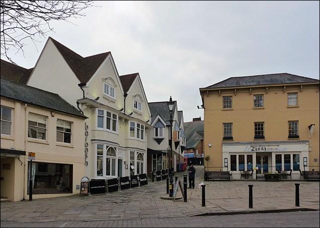 Teenager arrested in Hertfordshire on suspicion of preparing terror acts Picture: Market Square, Bishop's Stortford Credit: Hornbeam Arts/Flickr