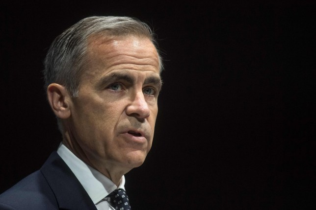 Bank of England Governor Mark Carney delivers the opening remarks at the Bank of England Markets Forum 2018 event at Bloomberg in central London on May 24, 2018. / AFP PHOTO / POOL / Victoria JonesVICTORIA JONES/AFP/Getty Images