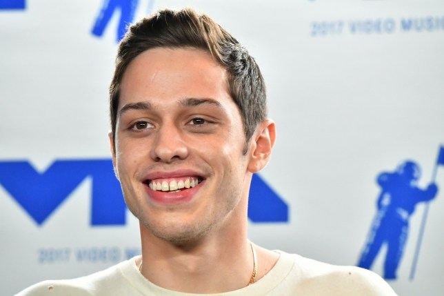 INGLEWOOD, CA - AUGUST 27: Pete Davidson poses in the press room during the 2017 MTV Video Music Awards at The Forum on August 27, 2017 in Inglewood, California. (Photo by Steve Granitz/WireImage)