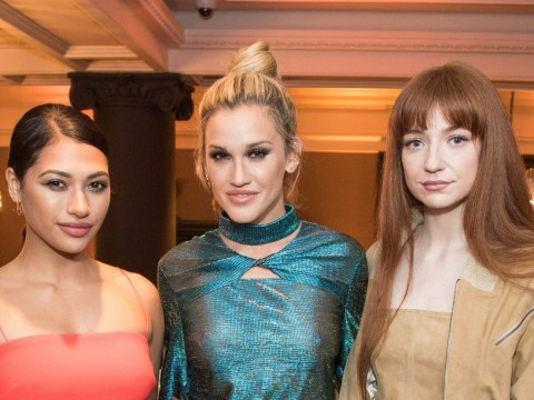 The Saturdays, Pussycat Dolls and Girls Aloud came together at fashion party