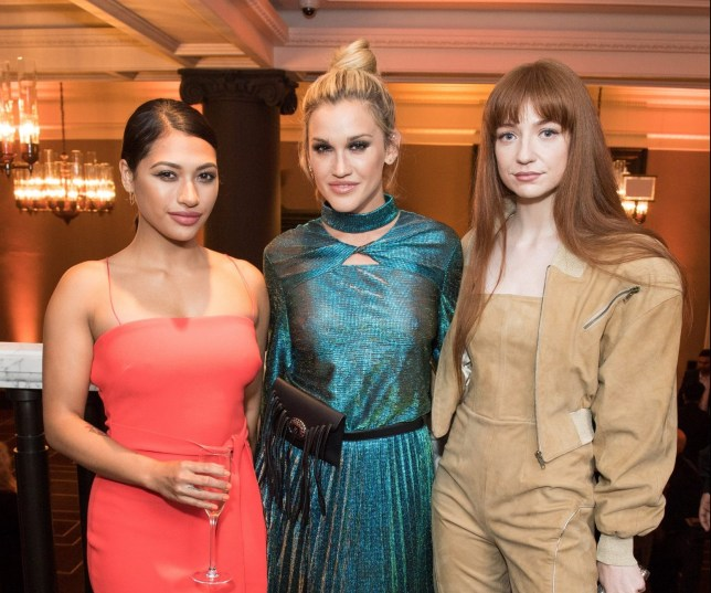 LONDON, ENGLAND - MAY 25: (L-R) Vanessa White, Ashley Roberts and Nicola Roberts attend the inaugural International Fashion Show at Rosewood Hotel on May 25, 2018 in London, England. (Photo by Jeff Spicer/Jeff Spicer/Getty Images for Becky Lockett)