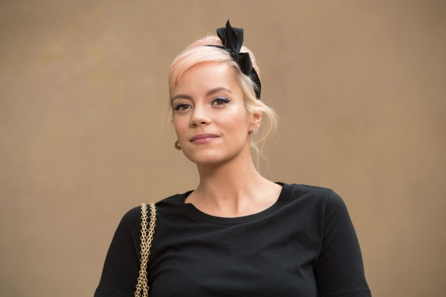 PARIS, FRANCE - MARCH 06: Lily Allen attends the Chanel show as part of the Paris Fashion Week Womenswear Fall/Winter 2018/2019 on March 6, 2018 in Paris, France. (Photo by Stephane Cardinale - Corbis/Corbis via Getty Images)