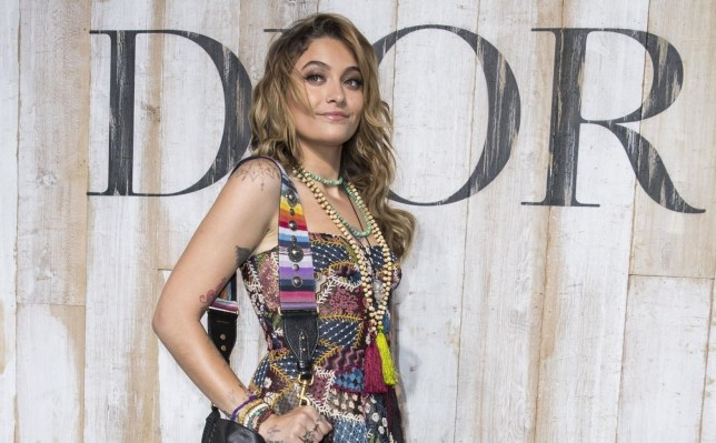 BGUK_1245864 - ** RIGHTS: ONLY UNITED KINGDOM ** Chantilly, FRANCE - Celebs attending the Christian Dior Couture S/S19 Cruise Collection Photocall at the Grandes Ecuries De Chantilly in Chantilly. Pictured: Paris Jackson BACKGRID UK 25 MAY 2018 BYLINE MUST READ: BEST IMAGE / BACKGRID UK: +44 208 344 2007 / uksales@backgrid.com USA: +1 310 798 9111 / usasales@backgrid.com *UK Clients - Pictures Containing Children Please Pixelate Face Prior To Publication*