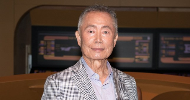 NEW YORK, NY - JUNE 30: Actor George Takei attends the Star Trek: The Star Fleet Academy Experience at Intrepid Sea-Air-Space Museum on June 30, 2016 in New York City. (Photo by Noam Galai/WireImage)