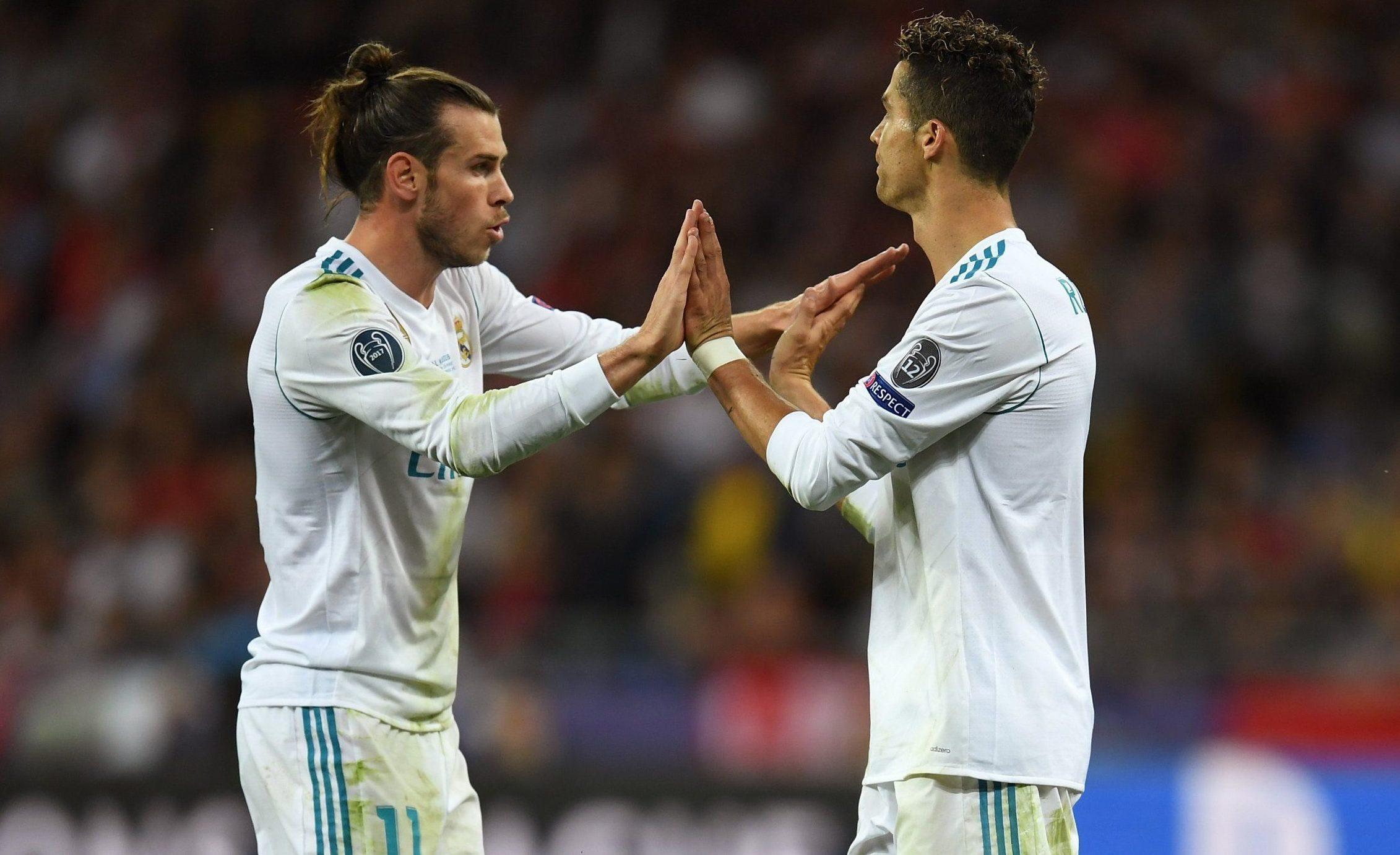 Cristiano Ronaldo caught admiring Gareth Bale's wonder goal vs Liverpool