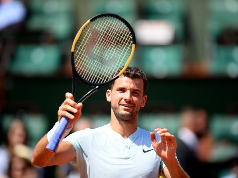 Grigor Dimitrov only discovered French Open opponent 20 minutes before match started
