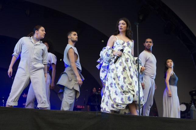 All Points East - Day 2 - Performances Featuring: Lorde Where: London, United Kingdom When: 26 May 2018 Credit: Simon Reed/WENN.com