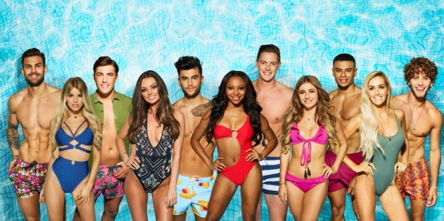 Editorial Use Only. No merchandising Mandatory Credit: Photo by ITV/REX/Shutterstock (9668299h) Adam Collard, Hayley Hughes, Jack Fincham, Kendall Rae-Knight, Niall Aslam, Samira Mighty, Dr. Alex George, Dani Dyer, Wes Nelson, Laura Anderson and Eyal Booker 'Love Island' TV Show, Series 4, Majorca, Spain - May 2018