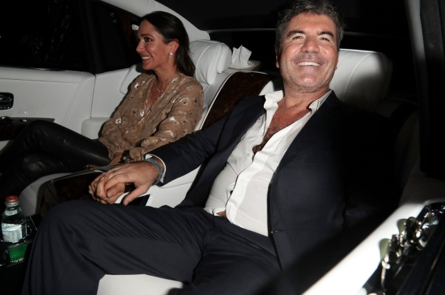 BGUK_1248986 - London, UNITED KINGDOM - Simon Cowell and fellow judges leave 'Britain's Got Talent' at the Apollo in London Pictured: Simon Cowell,David Walliams,Alisha Dixon,Amanda Holden BACKGRID UK 30 MAY 2018 UK: +44 208 344 2007 / uksales@backgrid.com USA: +1 310 798 9111 / usasales@backgrid.com *UK Clients - Pictures Containing Children Please Pixelate Face Prior To Publication*