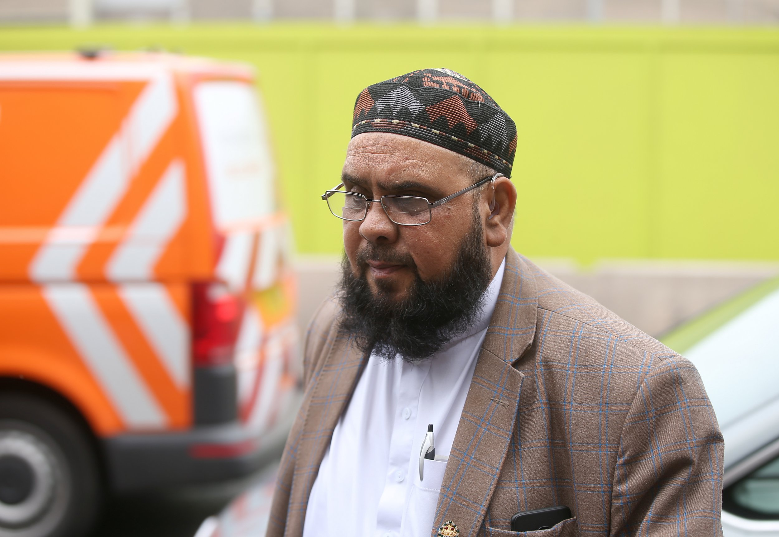 """A former imam has been jailed for five years after he abused a child at a mosque in Nottingham. Speaking about his ordeal at the hands of imam Mohammed Rabani as a boy, the victim said the actions of the spiritual leader were """"beyond redemption"""". Caption: Mohammed Rabani arrives at court"""