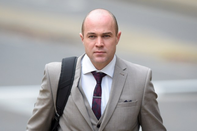 File photo dated 22/11/17 of Emile Cilliers, 37, who faces two charges of attempted murder and a third count of damaging a gas fitting at Winchester Crown Court after being accused of attempting to murder his wife Victoria. PRESS ASSOCIATION Photo. Issue date: Wednesday April 11, 2018. The soldier serving with the Royal Army Physical Training Corps is accused of sabotaging his wife?s main and reserve parachute and a few days earlier tampering with a gas valve at the family home in Amesbury, Wiltshire. See PA story COURTS Parachute . Photo credit should read: Ben Birchall/PA Wire