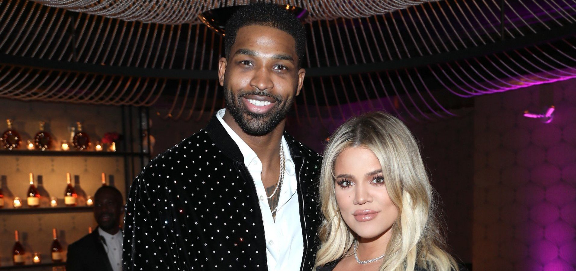 Khloe Kardashian brushes off Tristan Thompson split rumours by supporting him at game