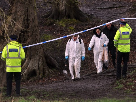 'Parents' of newborn baby found dead in woods with ribs missing arrested