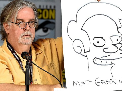 The Simpsons creator Matt Groening responds to Apu controversy: 'People love to pretend they're offended'