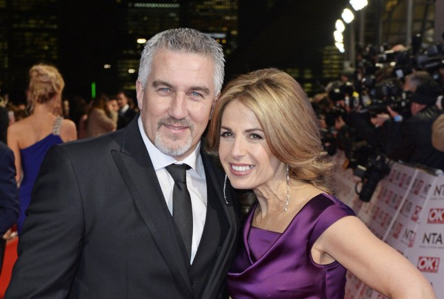LONDON, ENGLAND - JANUARY 21: Paul Hollywood (L) and Alexandra Hollywood attend the National Television Awards at 02 Arena on January 21, 2015 in London, England. (Photo by David M. Benett/Getty Images)