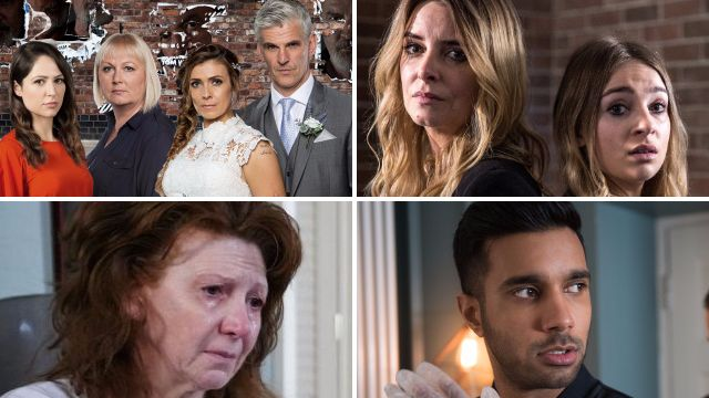 12 soap spoiler pictures: Shock Phelan ending in Corrie, EastEnders suicide torment, Charity's Emmerdale flashback and Hollyoaks murder plan