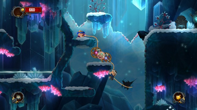 Super Chariot (NS) - weird idea, boring graphics, great game