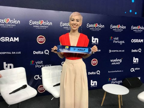 SuRie will sing Storm in the first half of the 2018 Eurovision Song Contest Grand Final
