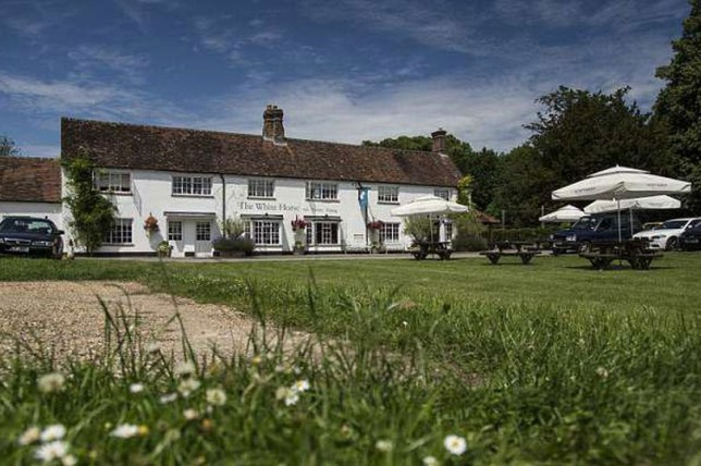 The White Horse in Chilgrove, West Sussex