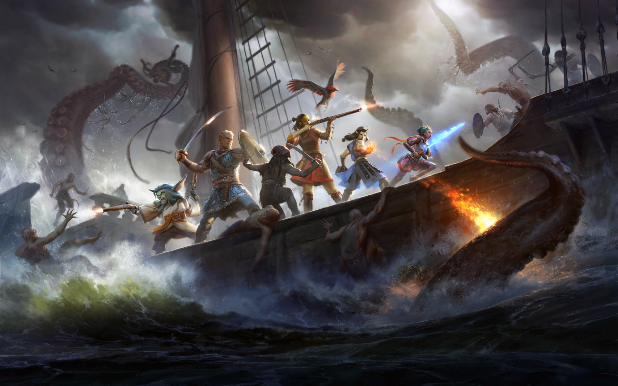 Pillars Of Eternity II: Deadfire review – role-playing on the high seas
