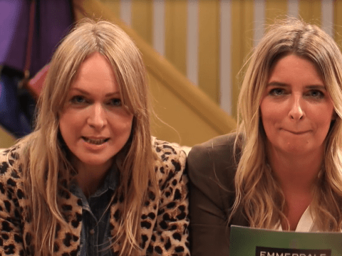 Emmerdale stars disagree over whether Charity and Vanessa is the better kisser in fun video