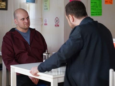 EastEnders spoilers: Mick Carter confronts Stuart Highway over his paedophile secret tonight