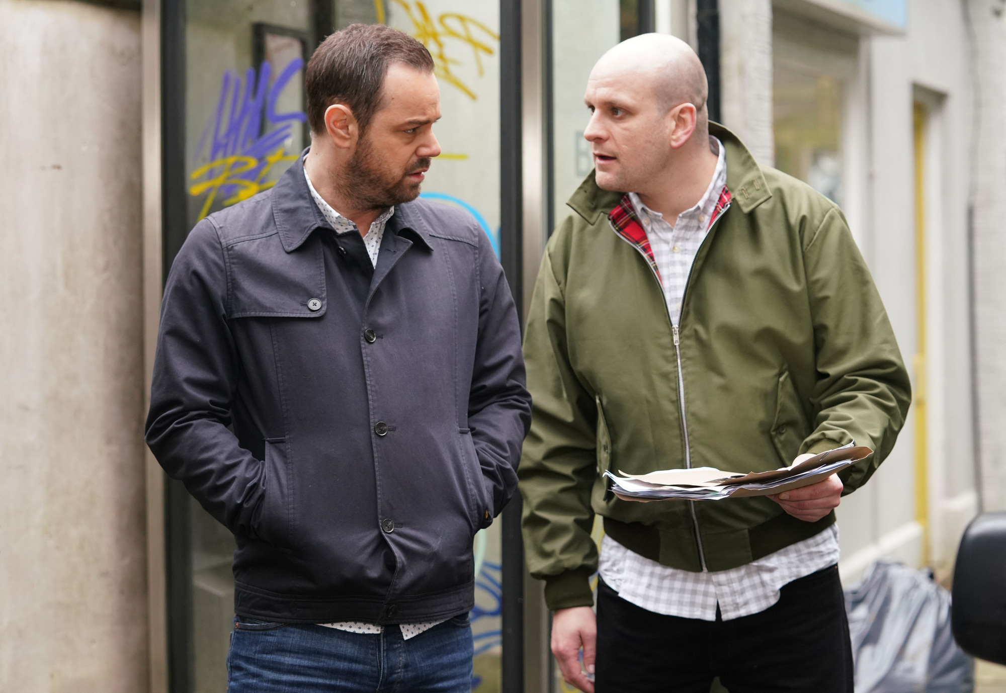 Mick and Stuart are on a mission in EastEnders