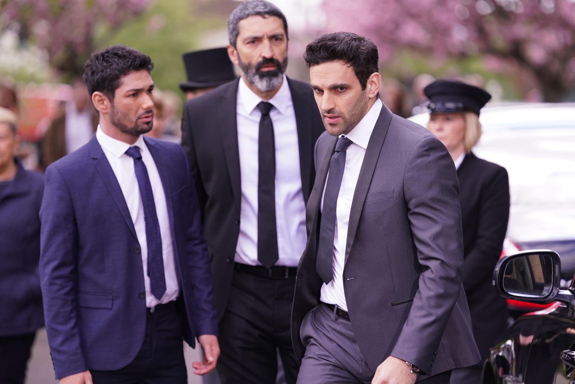 EastEnders spoilers: Davood Ghadami reveals funeral agony for Kush Kazemi