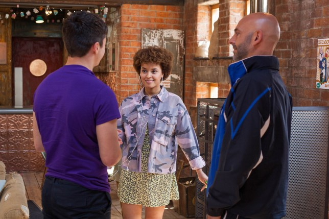 Buster is angry at Ollie in Hollyoaks