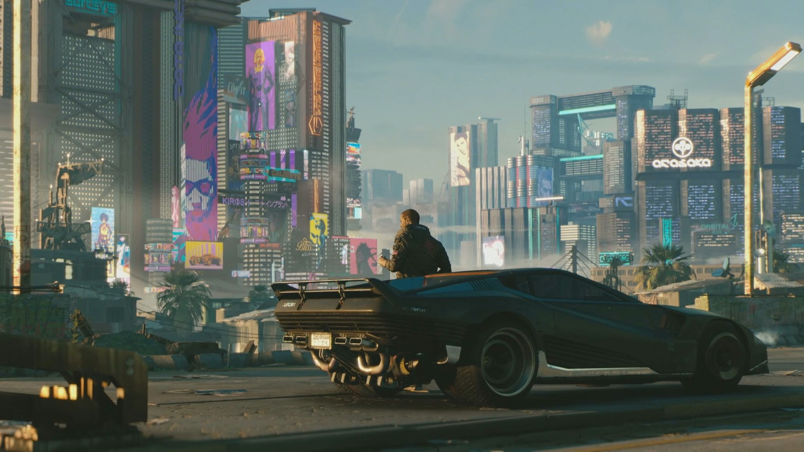Cyberpunk 2077 - there are hints you can drive flying cars too