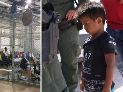 Children heard crying for their parents after being split from them at U.S. border