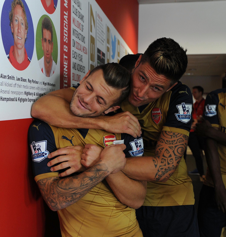 Olivier Giroud fires warning to Unai Emery over Jack Wilshere's Arsenal departure