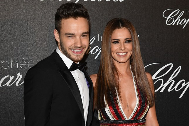 Liam Payne and Cheryl in Cannes