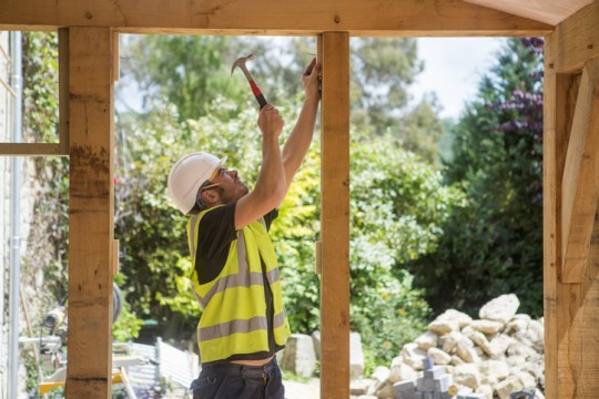 What time can builders start work in the UK according to the law