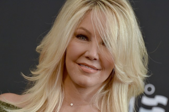 Heather Locklear in 'good spirits' as she checks herself into rehab facility