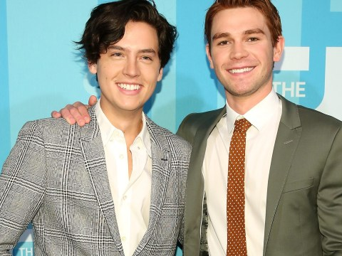 Riverdale's KJ Apa 'challenges' Cole Sprouse over their teenage bodies – and his response is savage