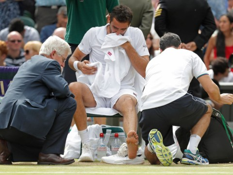 Marin Cilic speaks out on avoiding Wimbledon blisters repeat