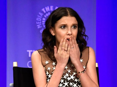 Millie Bobby Brown in 'great spirits' as Stranger Things co-stars describe broken knee as 'gnarly'