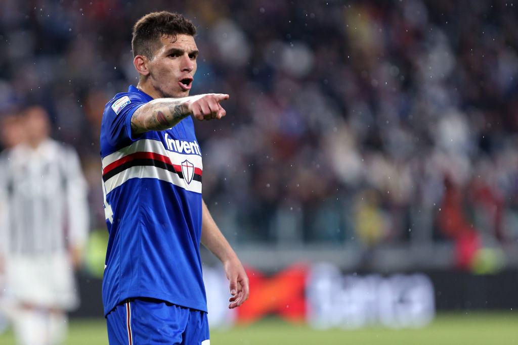 Sampdoria president appears to confirm Lucas Torreira's move to Arsenal
