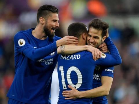 Cesc Fabregas reveals one area Chelsea winger Eden Hazard can improve