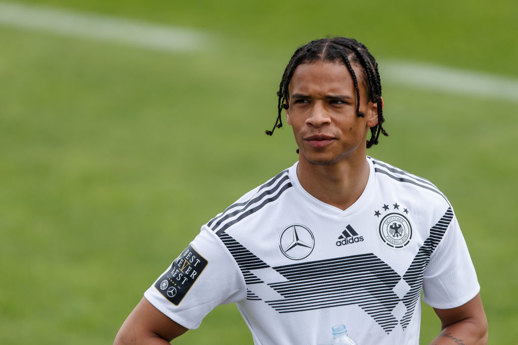 Who is in the Germany World Cup squad that Leroy Sane has been left out of?