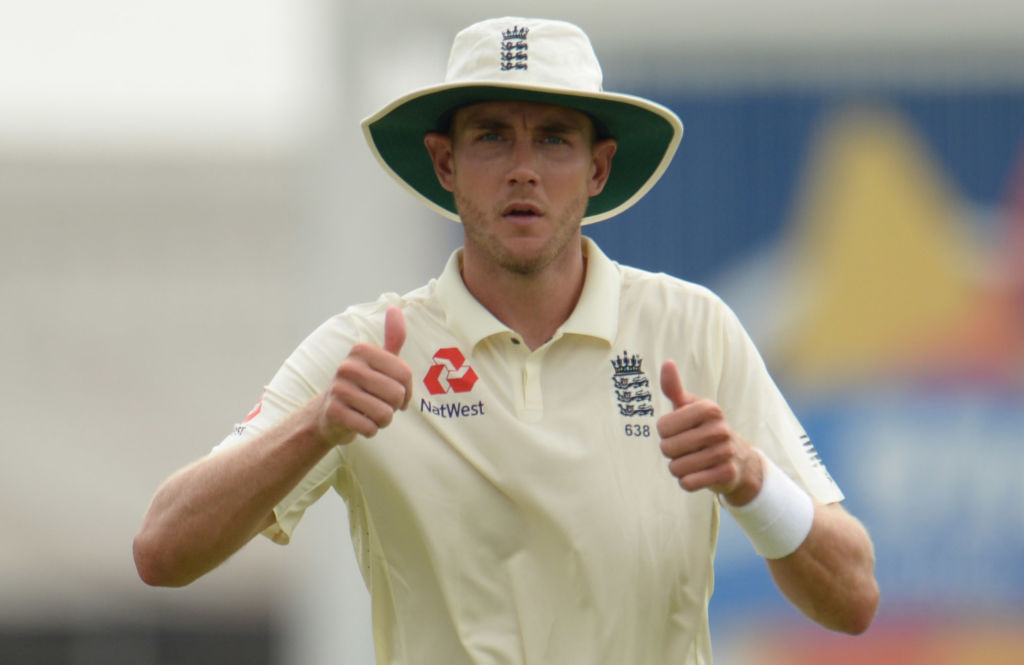 Stuart Broad buries the hatchet with former England captain Michael Vaughan
