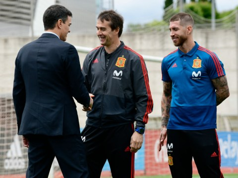 Sergio Ramos responds to sacking of Spain manager Julen Lopetegui on eve of World Cup