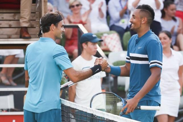 0f72377de Nick Kyrgios gives verdict on Roger Federer ahead of Wimbledon ...