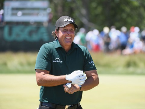 Phil Mickelson explains bizarre decision to putt a moving ball at US Open