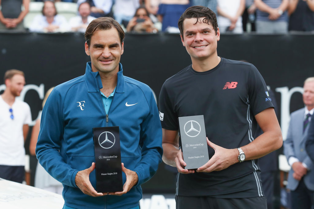 Milos Raonic reveals what impressed him most about Roger Federer in Stuttgart defeat